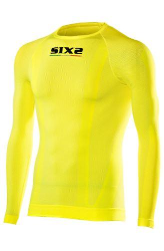 SIXS TS2 funkční tričko s dlouhým rukávem žlutá