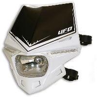 UFO PLAST Přední maska se světlem Stealth bílá