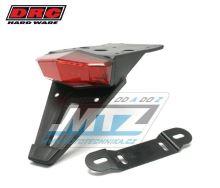 Zadní světlo LED Edge2 12V červené s držákem SPZ + osvětlením SPZ (bílé barvy)