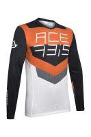 ACERBIS dres MX-TRACK černá/oranž M