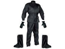 Set Rainpack bunda/kalhoty/rukavice/boty, NOX - Francie (černá)