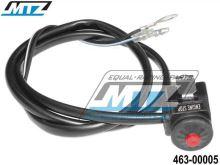 Vypínač/Chcípák KAWASAKI KX+KLX+KDX (použitelné jako startovací tlačítko)