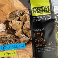 Adventure Menu 100% maso  Vepřové maso na kmíně