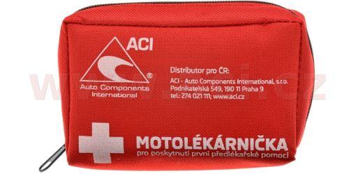 Motolékárnička CZ - textilní (dle platné vyhlášky 216/2010 Sb.)
