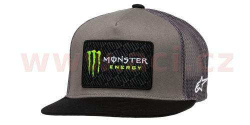 Kšiltovka MONSTER CHAMP HAT, ALPINESTARS (šedá/černá)