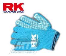 Rukavice mechanické RK Chain - modré
