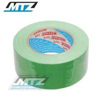 Páska americká (textilní Duct Tape) - 48mmX50m - zelená