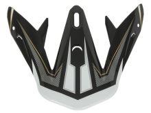 Kšilt pro přilby Defender, NOX (černý-zlatý)