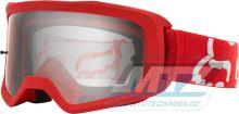 Brýle FOX MAIN II Race Goggle MX20 - červené