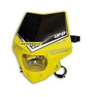 UFO PLAST Přední maska se světlem Stealth žlutá