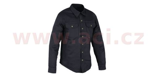 Košile KICKBACK s Kevlar® podšívkou, OXFORD (černá)