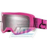Brýle FOX MAIN II Race Goggle MX20 - růžové