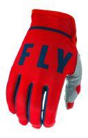 Rukavice LITE 2020, FLY RACING - USA (červená/šedá/navy)