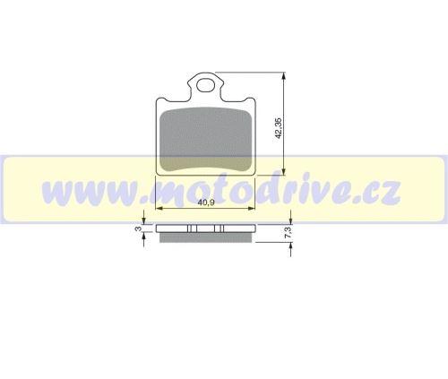 MRP Brzdové destičky KTM SX 85