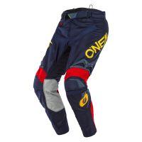 Kalhoty O´Neal Hardwear REFLEXX modrá/žlutá 3 38