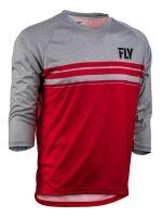 Dres RIPA 3/4 , FLY RACING - USA (červená/šedá , vel. XL)