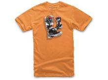 Triko TECH 7 BOOT TEE, ALPINESTARS, dětské (oranžové, vel. M)