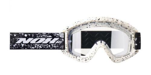 MX brýle N1, NOX (bílé/černé)