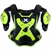 Nárameníky/Chránič hrudi Ufo X-Concept - žlutý FLUO