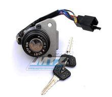Spínací skříňka (6pólový konektor) Yamaha DT125R / 91- + TZR250 / 87-92 + XT600K+XT600E+XT600H / 87-95 + XT350+TT350 / 87-92