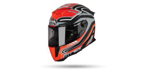 Přilba GP 500 RIVAL, AIROH - Itálie (oranžová matná)