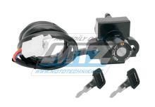 Spínací skříňka (3pólový konektor) - Honda CBR600F (PC25/PC31) / 91-97 + VFR750F / 90-98 + CB500 / 93-01 + NX650 Dominator / 88-02