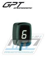 Ukazatel zařazené rychlosti digitální GPT EVO1 (bílý)