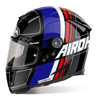 Přilba GP500 Scrape, AIROH (černá/modrá/červená, vel. XL)