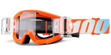 Brýle Strata Mud. Jr Orange, 100% dětské (čiré plexi s Roll Off)